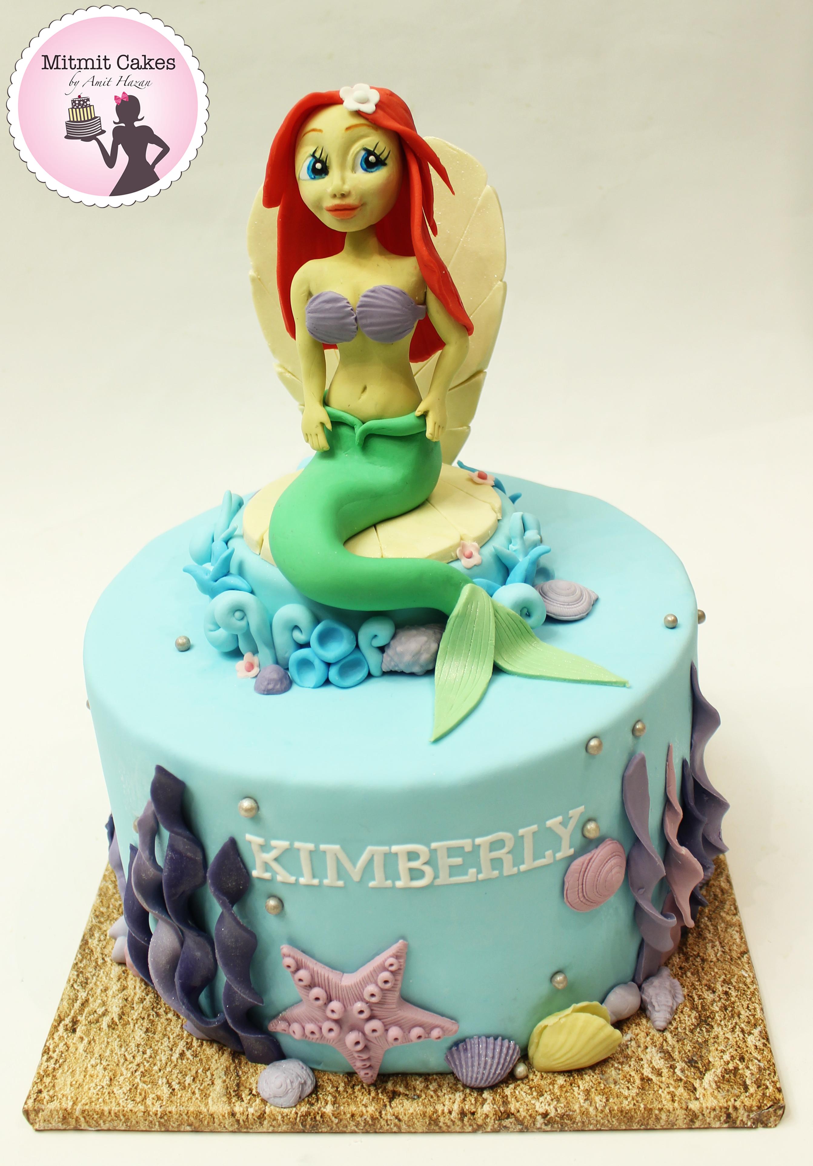 עוגת בת הים הקטנה