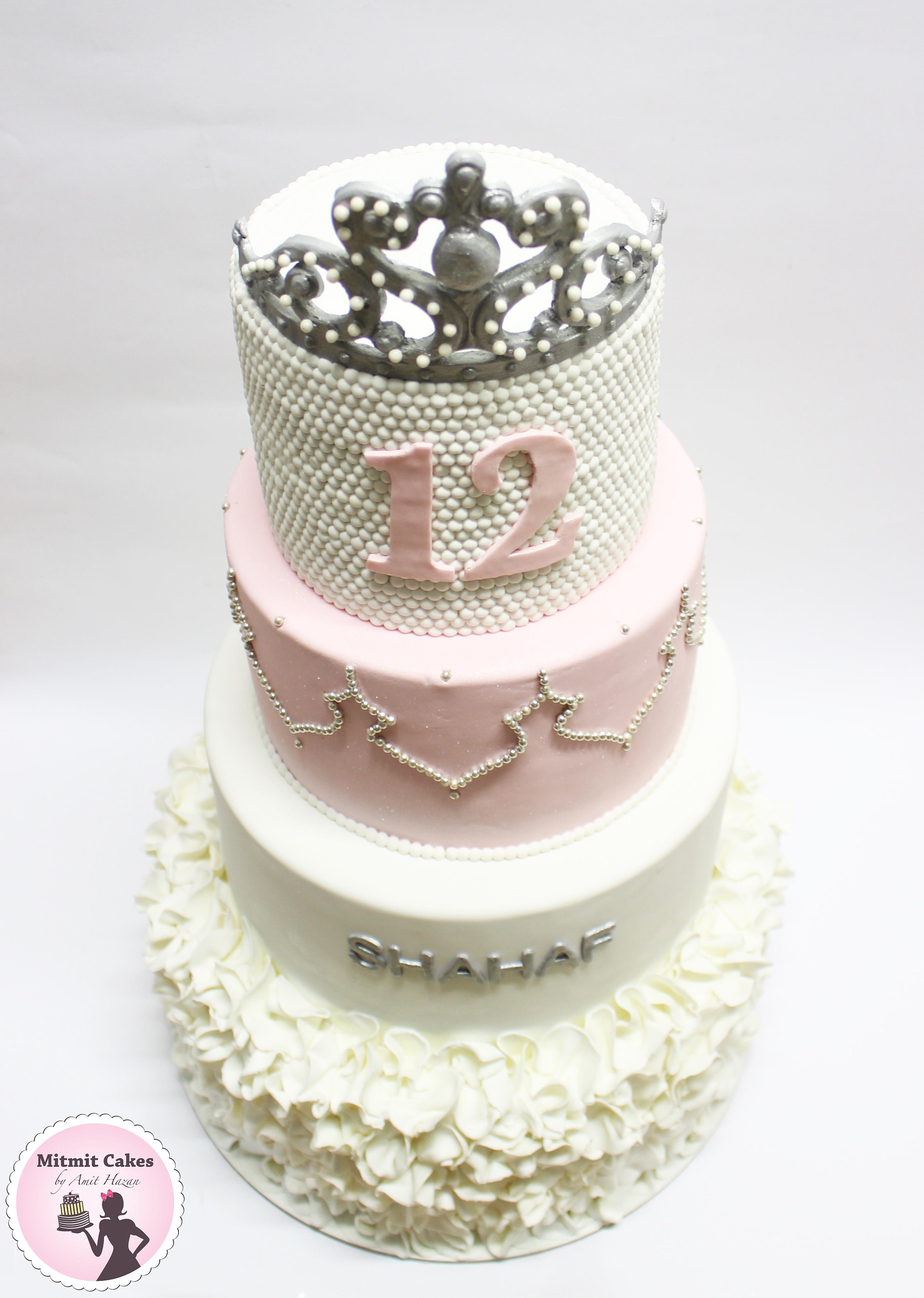 עוגת בת מצווה קלאסית