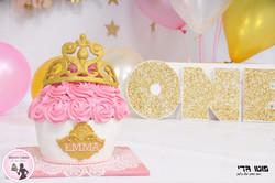 עוגת סמאש קייק לנסיכה