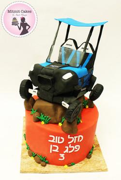 עוגת טרקטורון