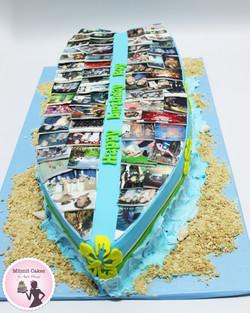 עוגה בצורת גלשן