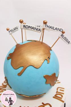 עוגה ארצות