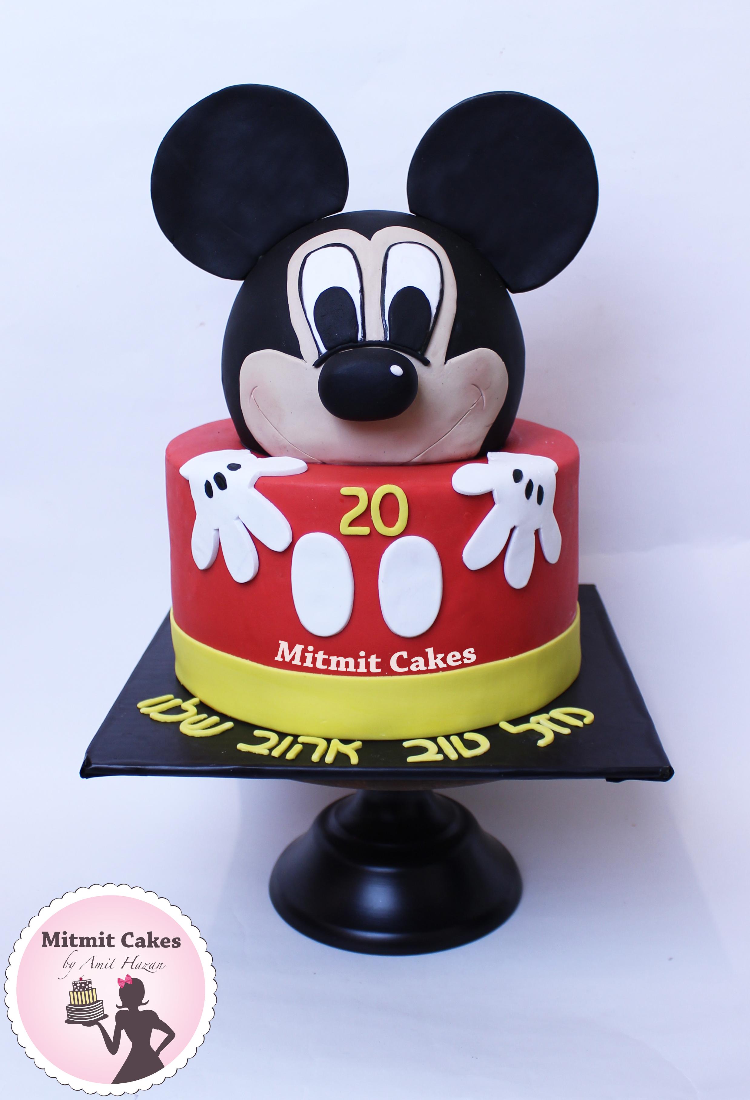 עוגה של מיקי מאוס