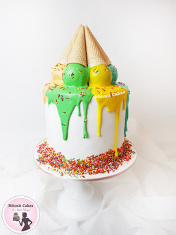 עוגה גלידה