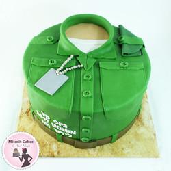 עוגת מדים גיוס כללי