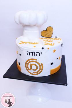 עוגה לזוכה מאסטר שף