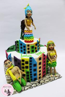 עוגת שחרור קרנבל ברזיל