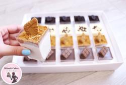 שוקולד לבן ולוטוס- קינוח אישי