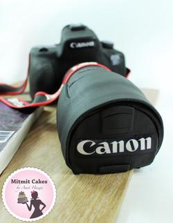 עוגת מצלמה קנון
