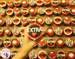 Extra love קאפקייקס