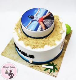 עוגה עם תמונה