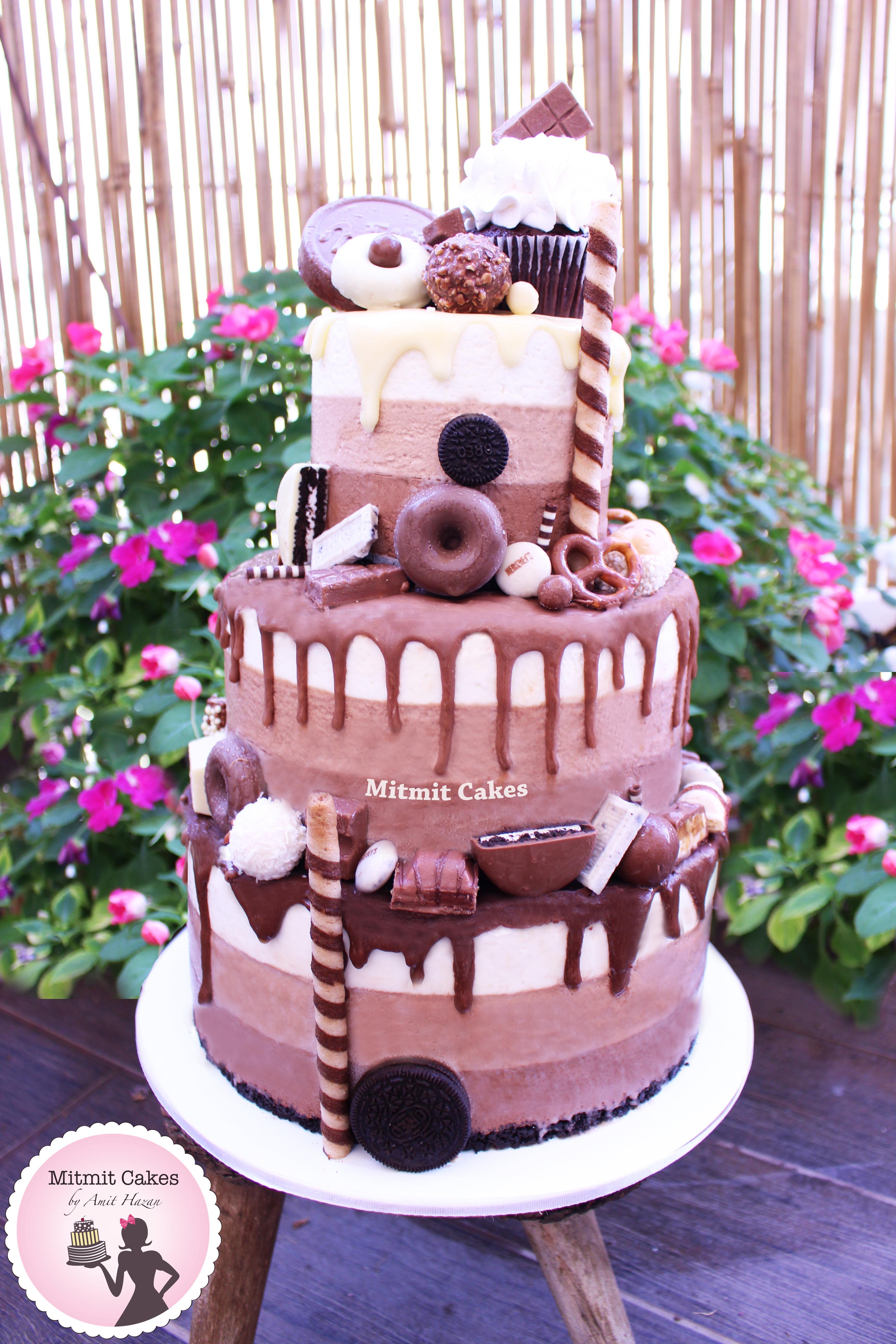 עוגת 3 קומות מוס
