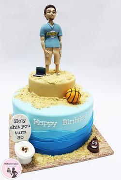 עוגה בקונספט ים