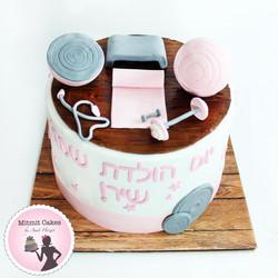 עוגת מכון כושר