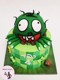 עוגה זומבי מפלצת