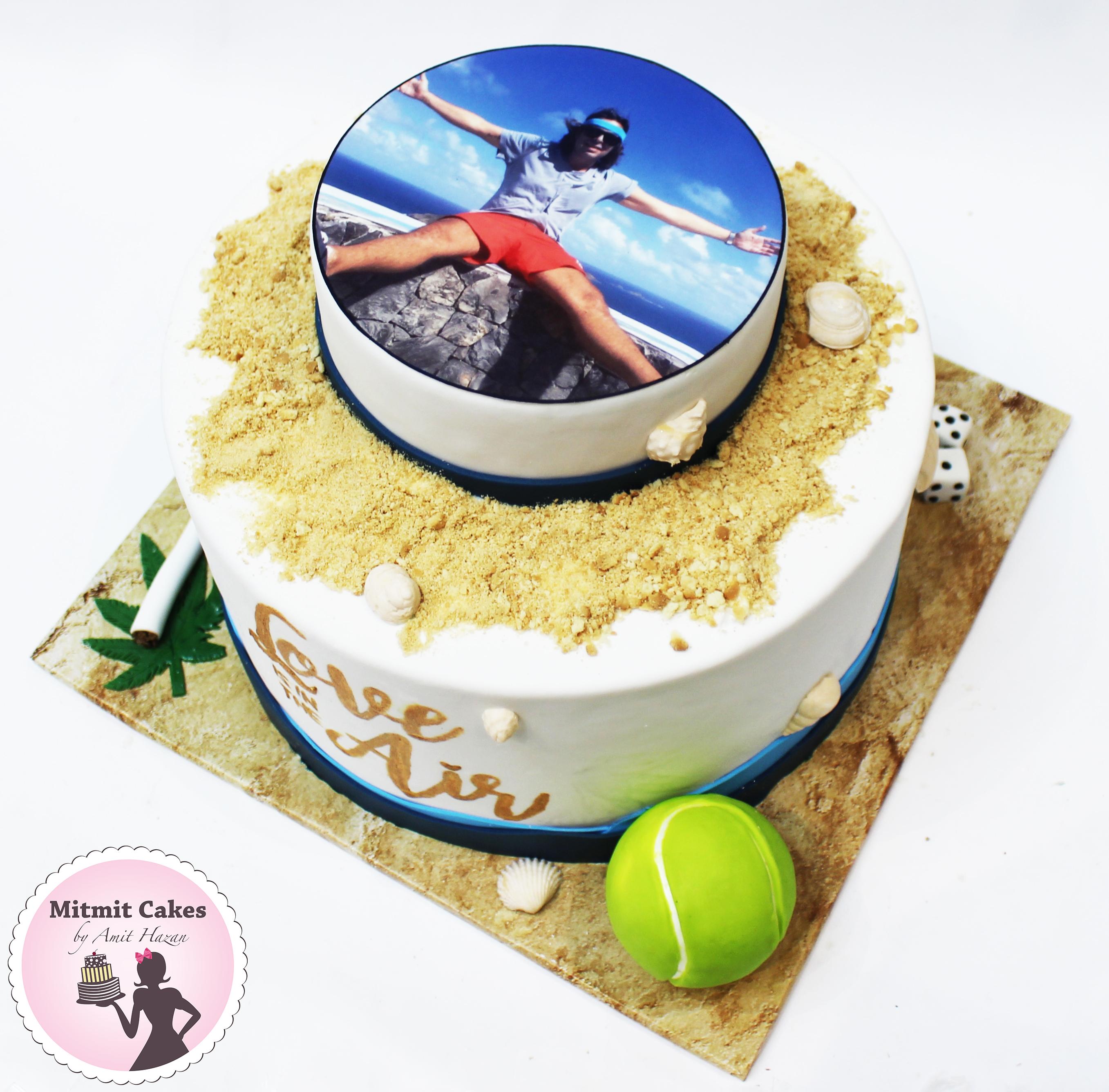 עוגה עם תחביבים