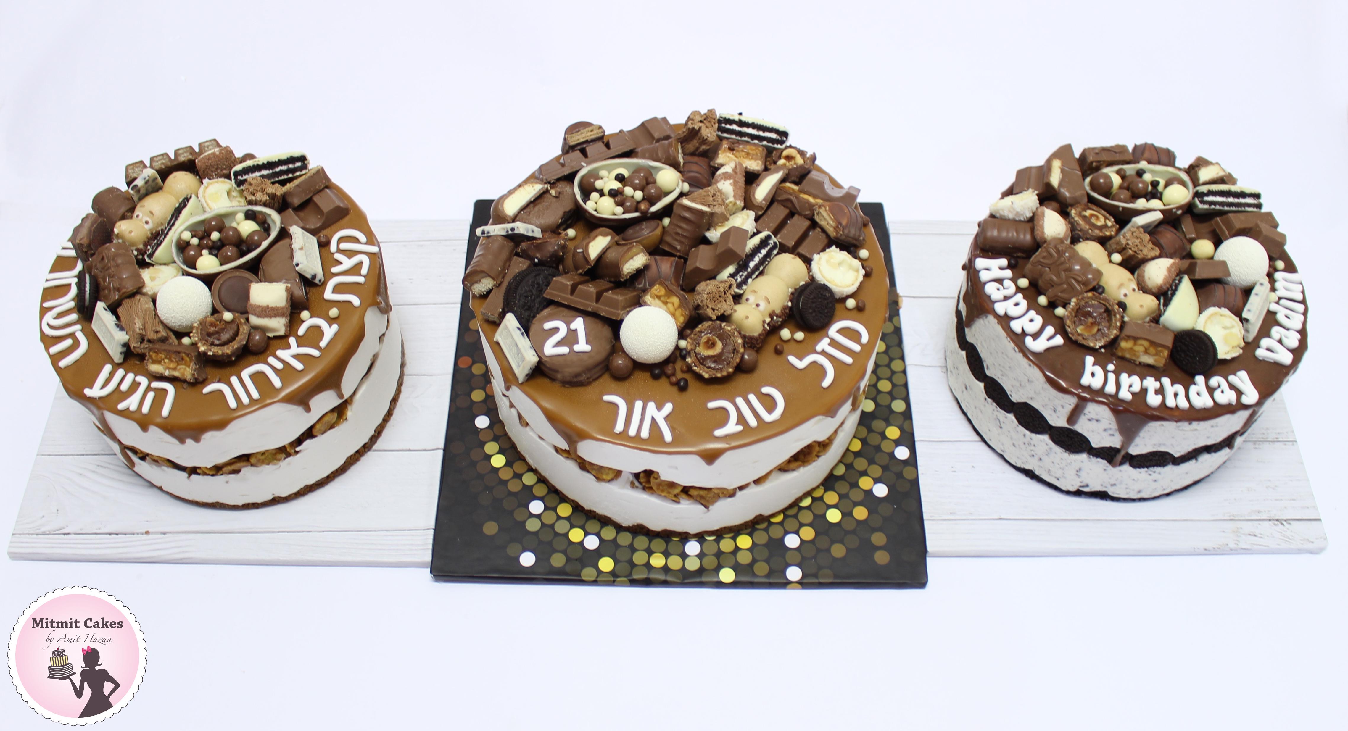 עוגת מוס אוריאו ומוס מסקרפונה