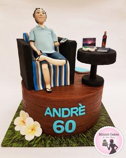 עוגת יום הולדת 60