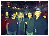 Funny who you bump into :-) with Simon Kirke, David Malachowski and Gary Seligson
