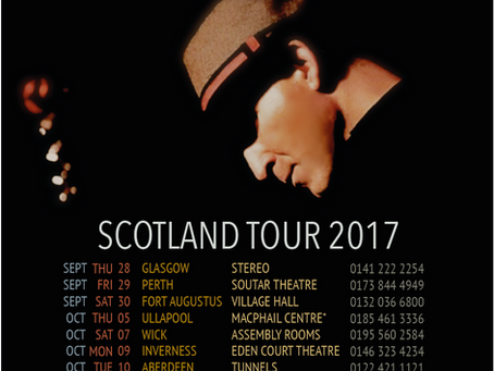 Scottish Tour Announced