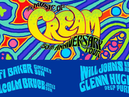 Australia / New Zealand Tour with Glenn Hughes playing the music of Cream