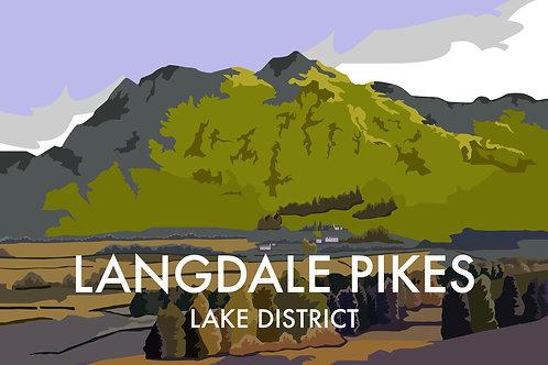 Langdale Pike, Lake District