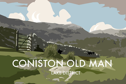 Coniston Old Man, Lake District