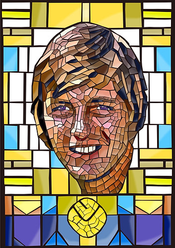Sniffer Clarke Stained Glass
