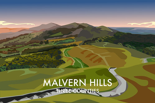 Malvern Hills, Three Counties