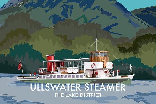 Ullswater Steamer, The Lake District