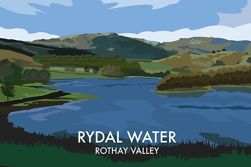 Rydal Water, Rothay Valley