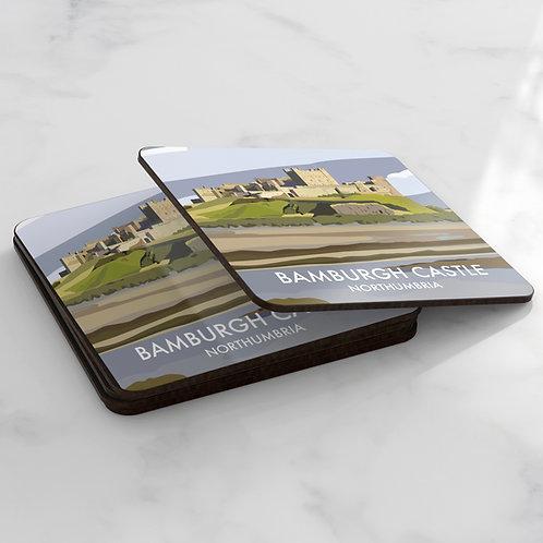 Bamburgh Castle Coaster