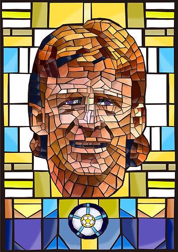Gordon Strachan Stained Glass