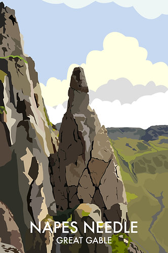 Napes Needle, Great Gable