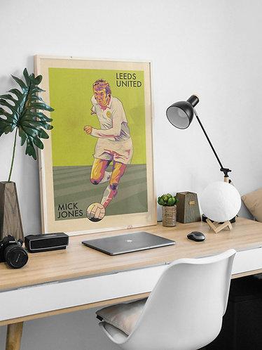 Retro Mick Jones Print