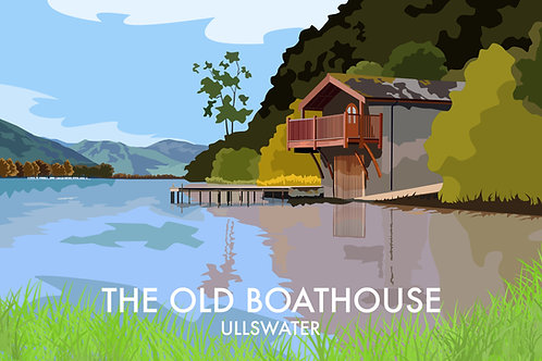 The Old Boathouse, Ullswater