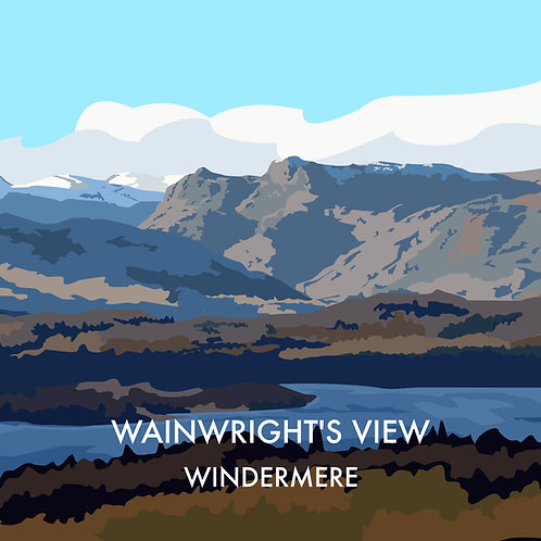 Wainwrights View, Windermere
