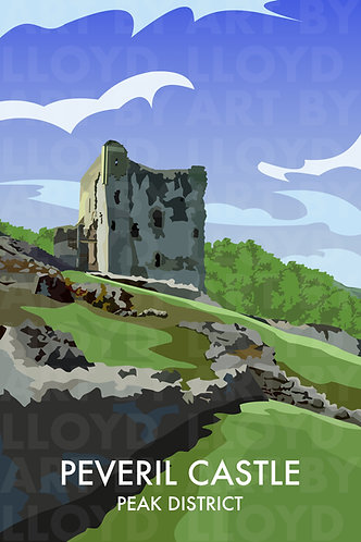 Peveril Castle, Peak District