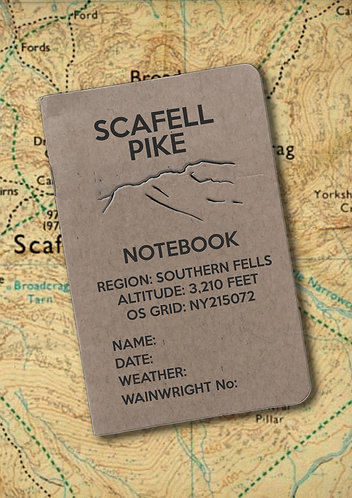 Scafell Pike Notebook