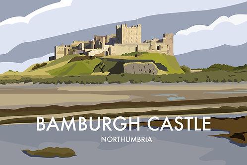 Bamburgh Castle, Northumbria