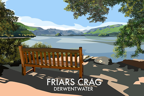 Friars Crag, Derwentwater