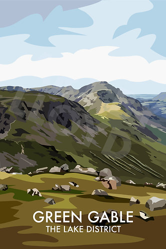 Green Gable, The Lake District