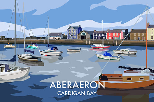Aberaeron, Cardigan Bay
