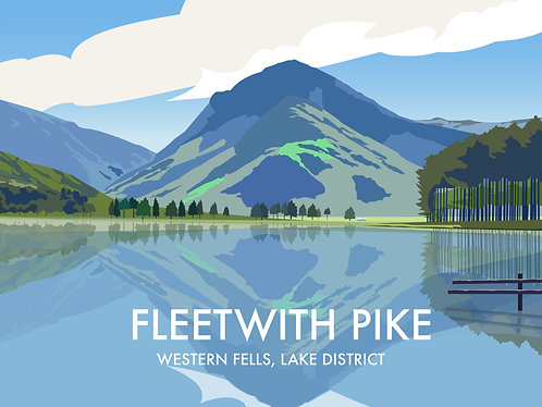 Fleetwith Pike, The Lake District