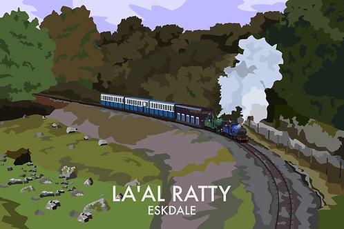 La'al Ratty, Eskdale