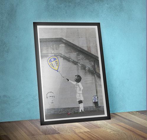 Boy with a Leeds Balloon