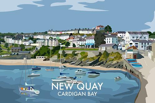 New Quay, Wales