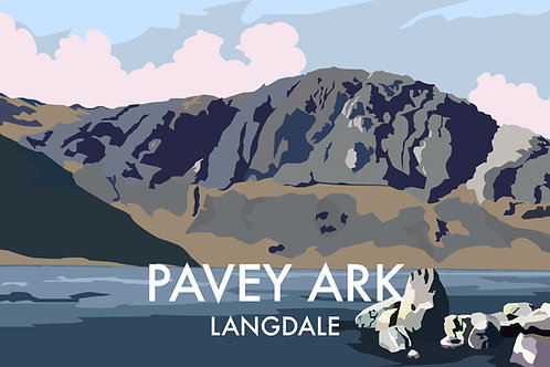 Pavey Ark, Langdale