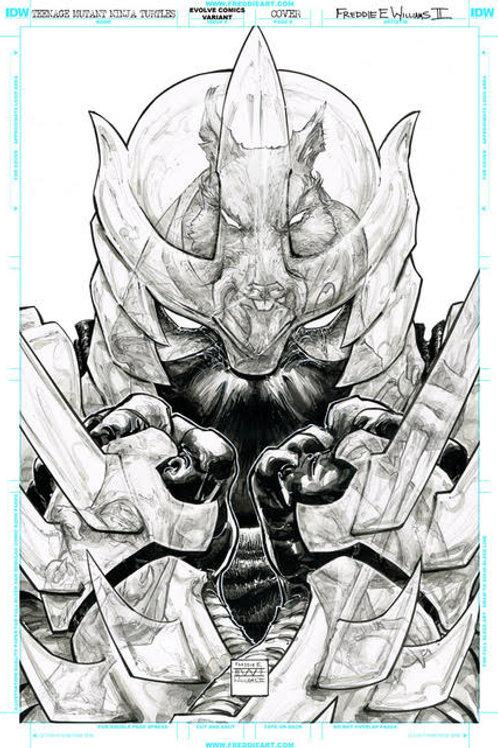"""""""Shredder v Splinter"""" Pre-Sale Exclusive Print 11""""x17"""""""