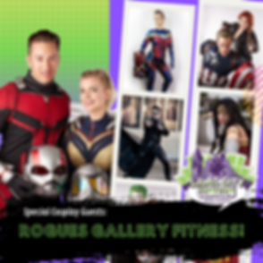 Copy of Rogues Gallery Fitness Lilac OCT
